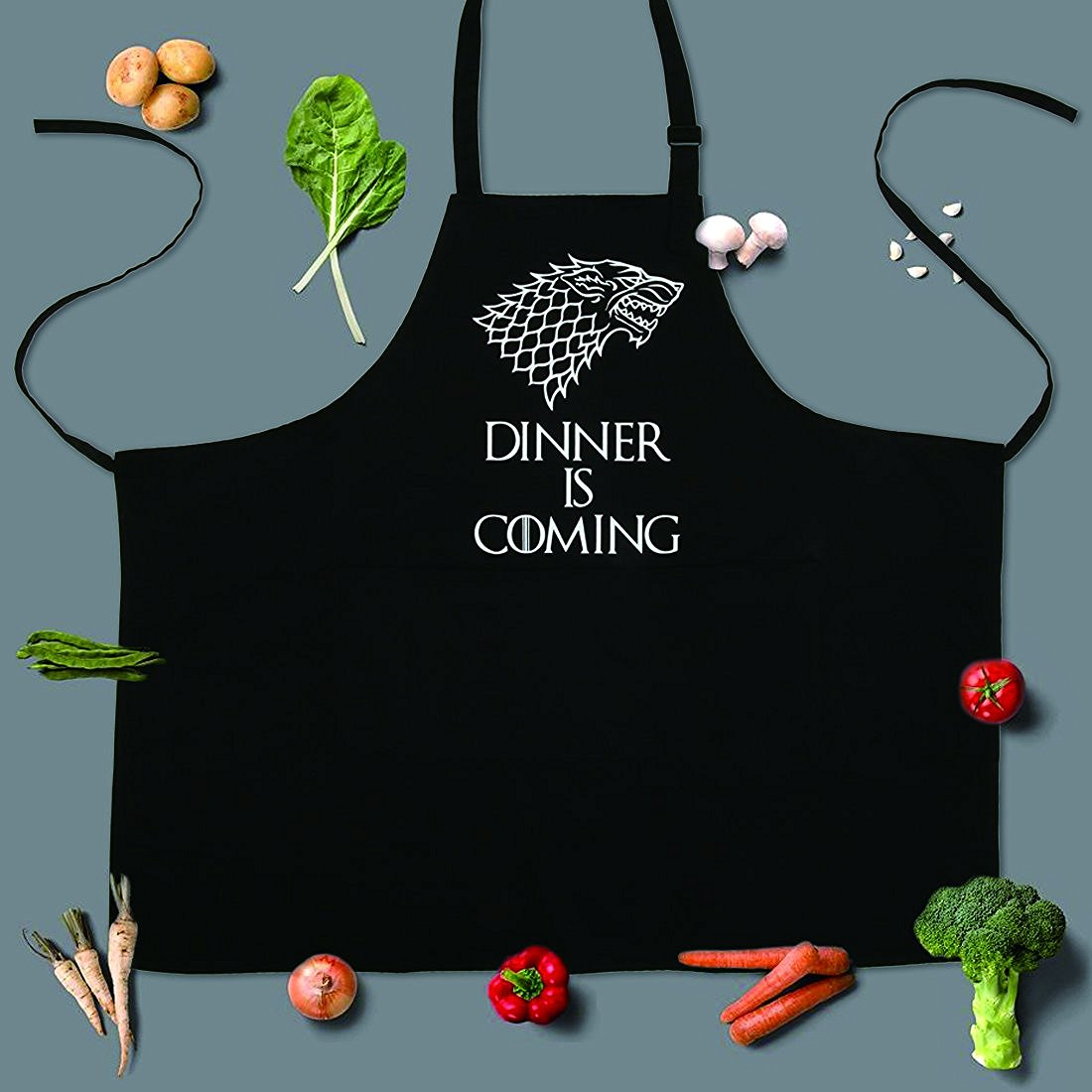 Game of thrones grill apron gift idea for men and women for Game of thrones christmas gifts 2016