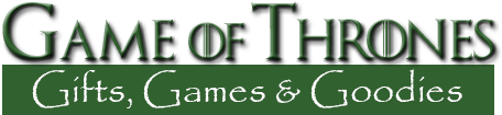 Game of Thrones Gifts, Games & Goodies