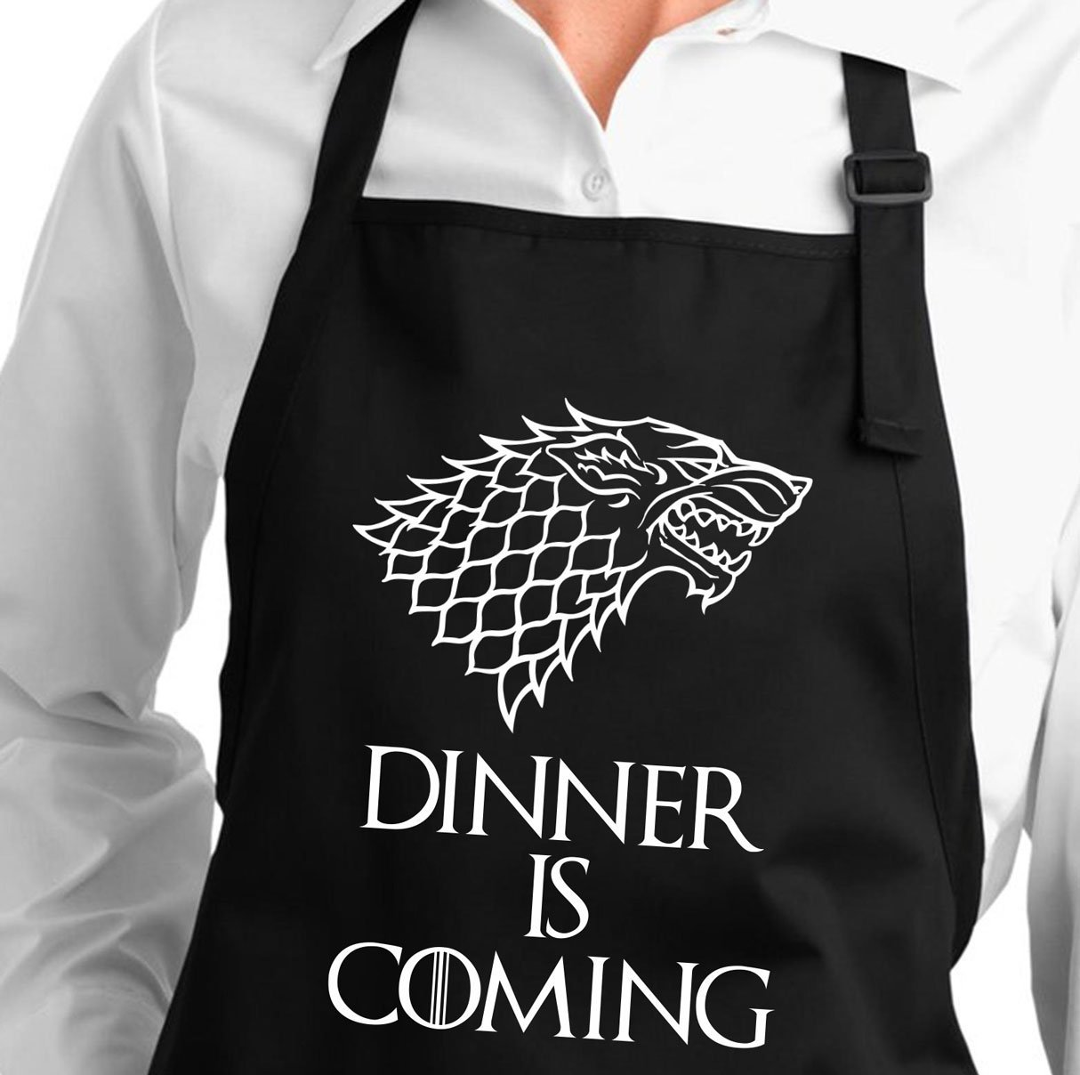 Dinner is Coming GOT Apron